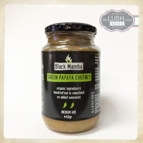 Black Mamba Green Papaya Chutney