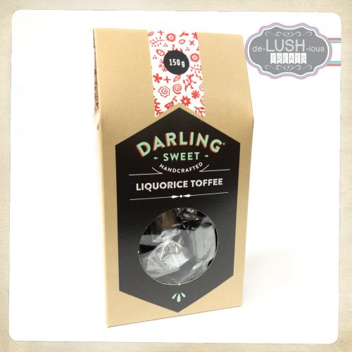 Darling Sweet Liquorice Toffee 150g
